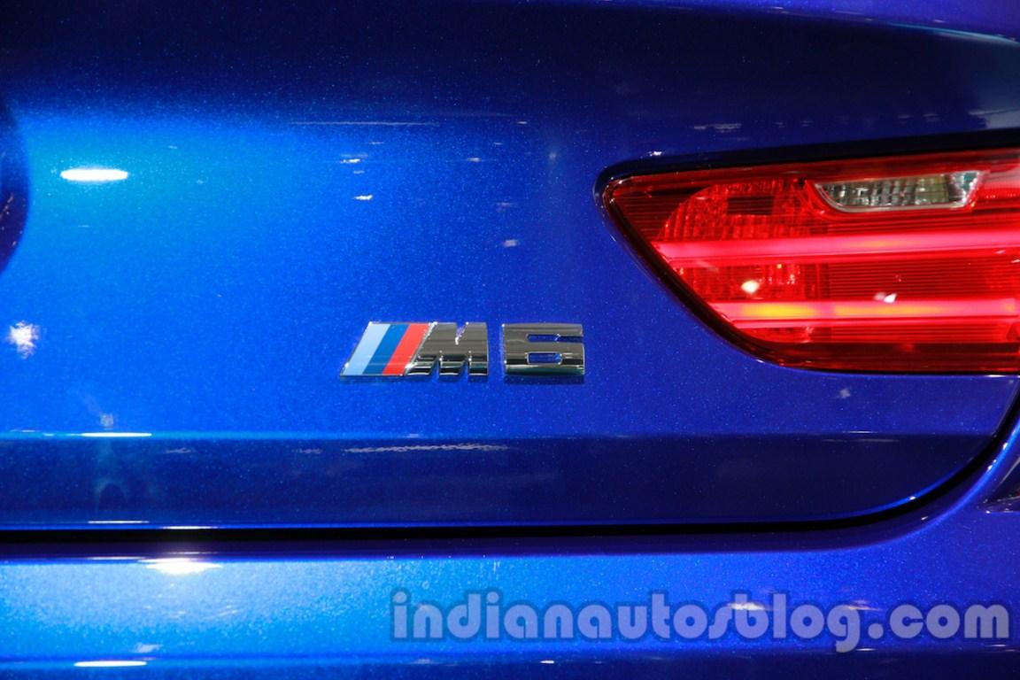 BMW M6 Gran Coupe M6 logo live