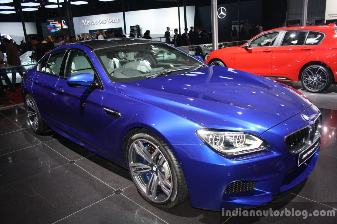 BMW M6 Gran Coupe front three quarter live