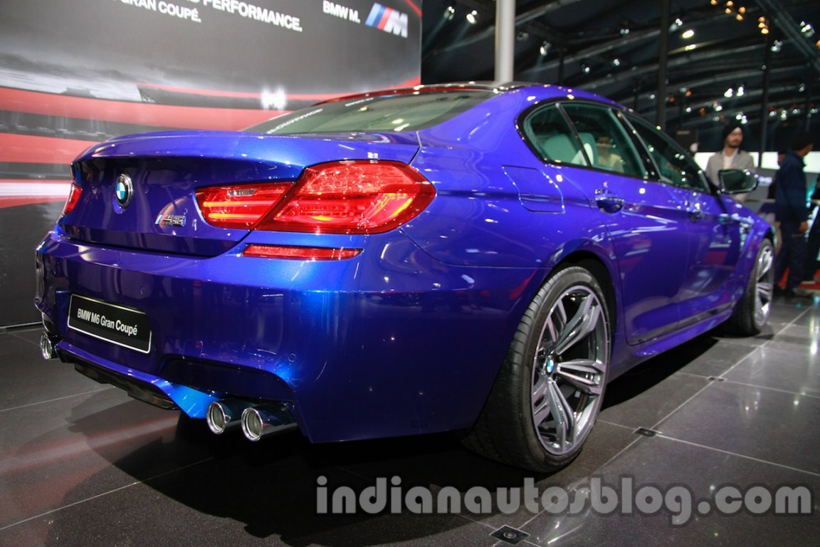 BMW M6 Gran Coupe rear three quarter right live