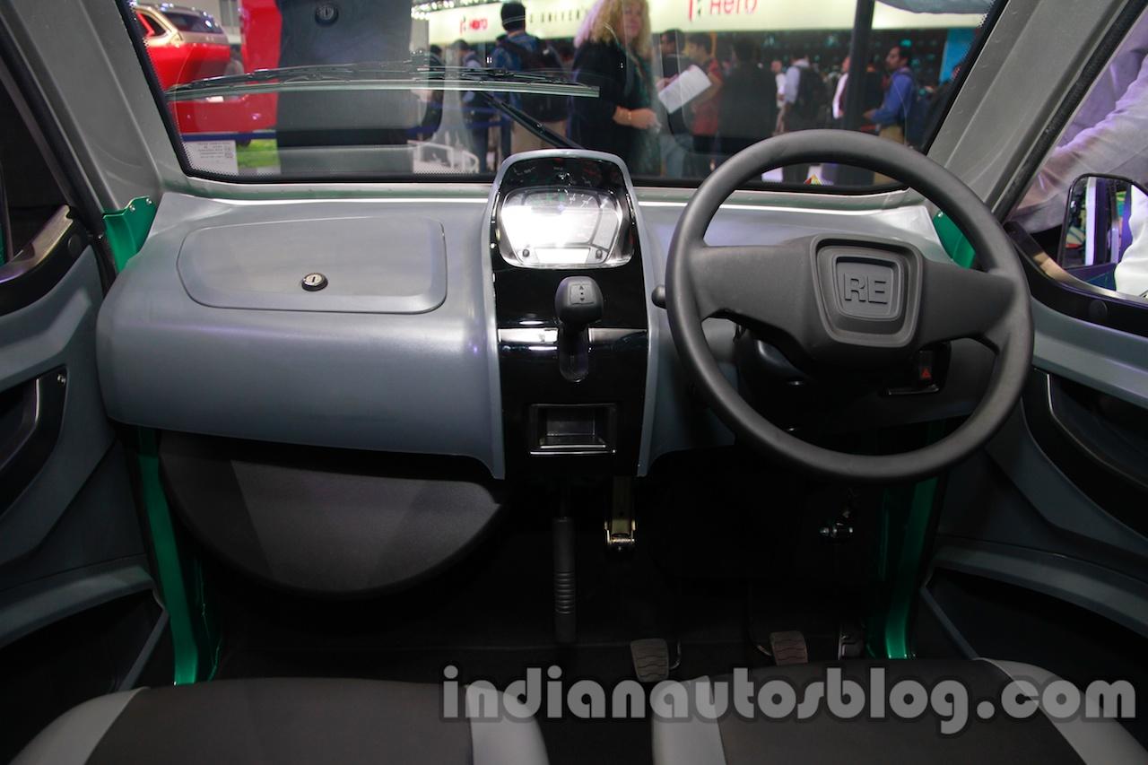 Bajaj RE60 Auto Expo 2014 interior