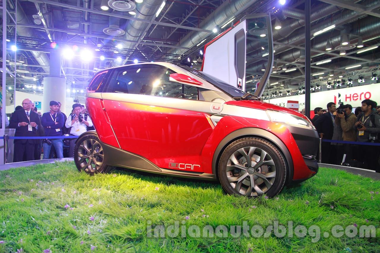 Bajaj U-Car Concept front three quarter view