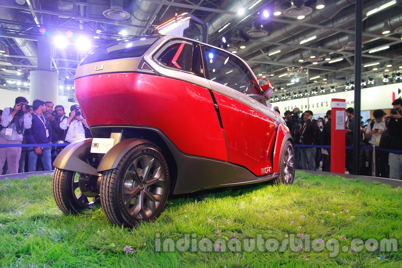 Bajaj U-Car Concept rear three quarters