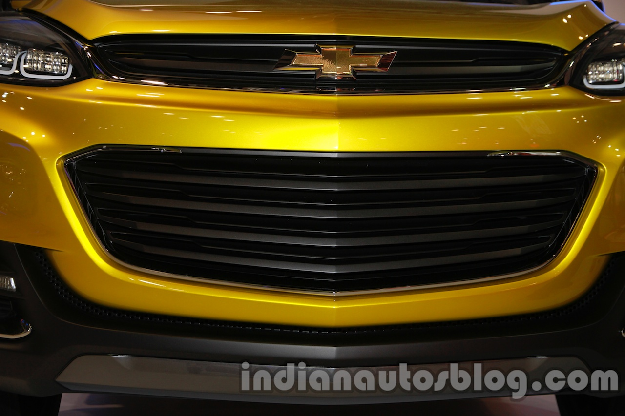 Chevrolet Adra Concept Front Grille at Auto Expo 2014