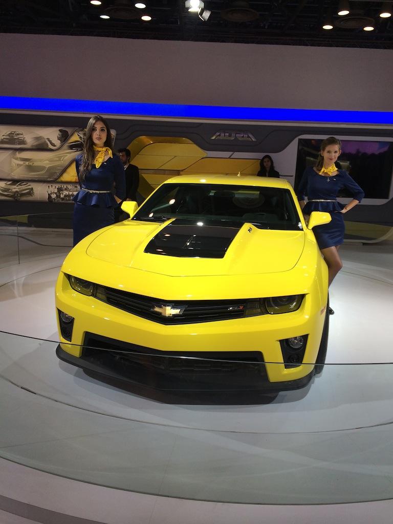 Chevrolet Camaro Auto Expo 2014
