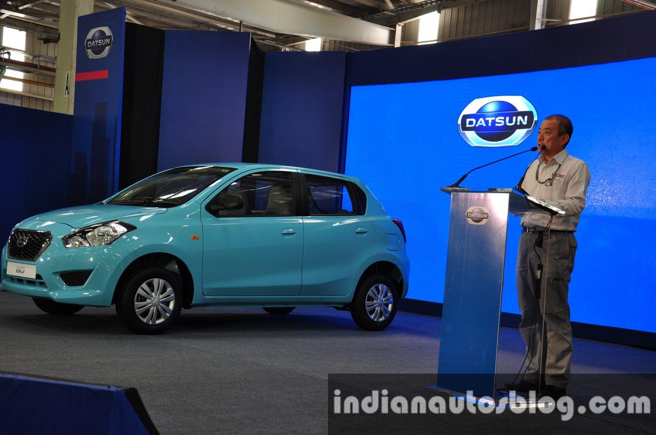 Datsun 1st car rollout from Chennai 4