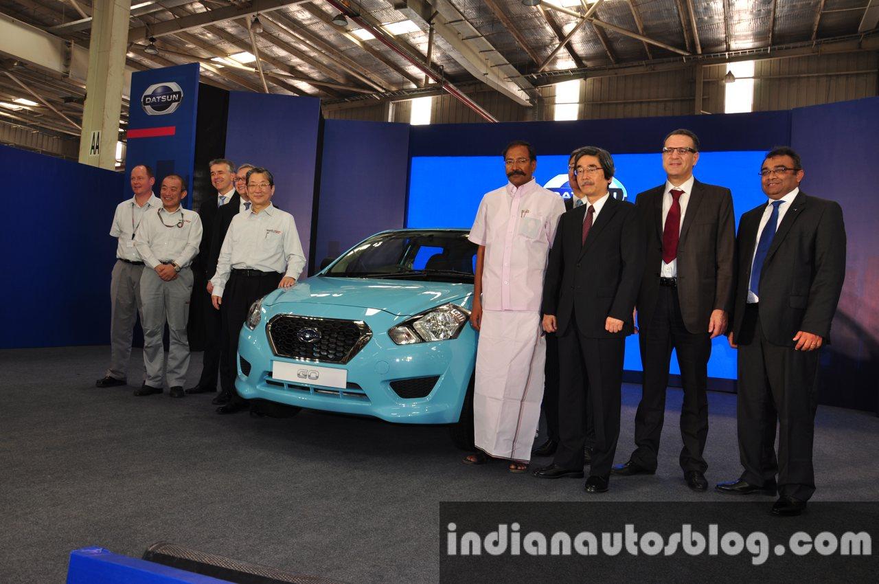Datsun 1st car rollout from Chennai 5