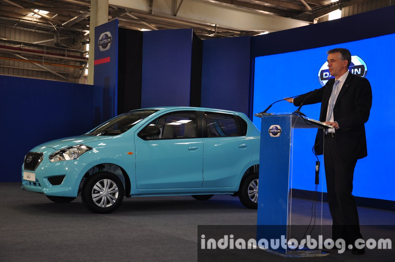 Datsun 1st car rollout from Chennai live