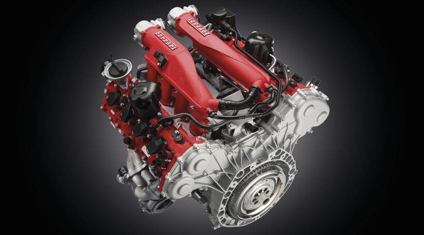 Ferrari California T engine