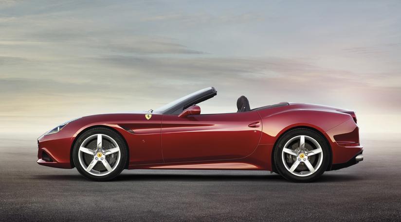 Ferrari California T top down