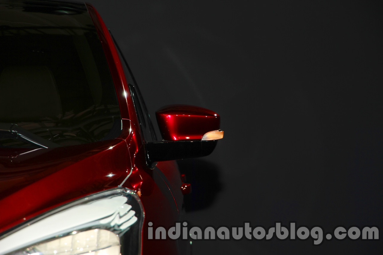 Ford Figo Concept Sedan Launch Images wing mirror