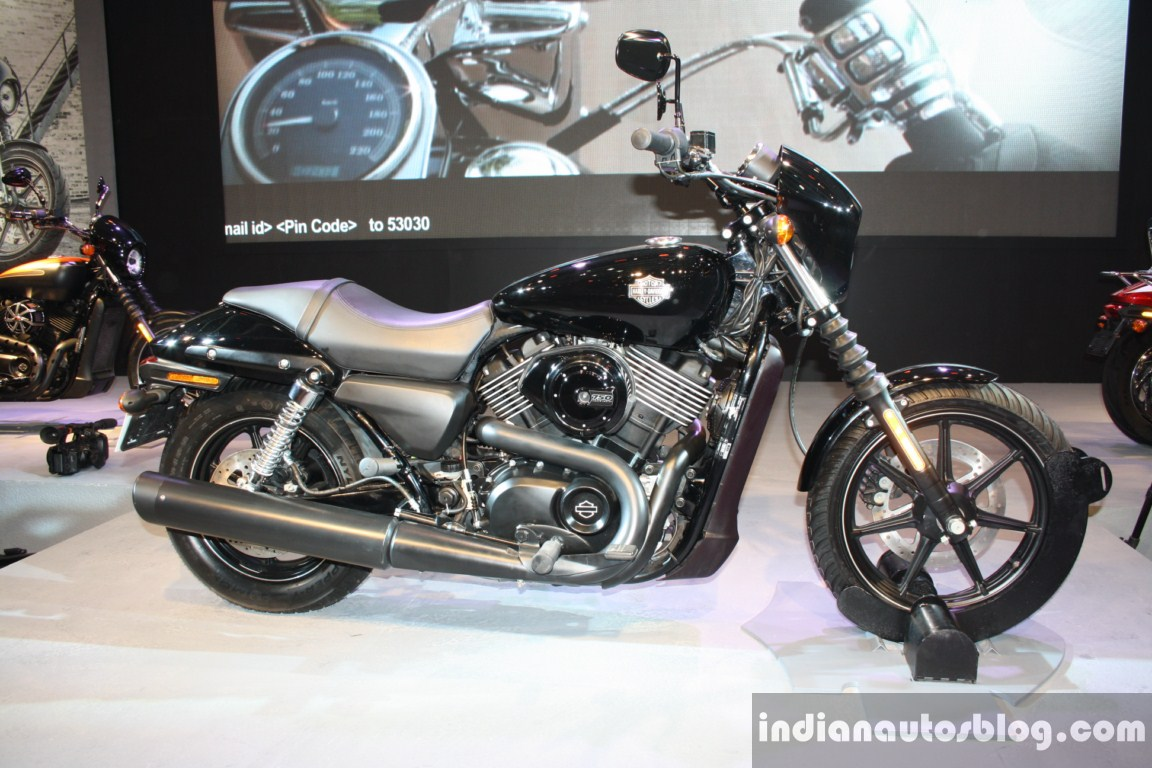 Harley Davidson Log: Harley-Davidson Street 750 Priced At 4.1 Lakhs