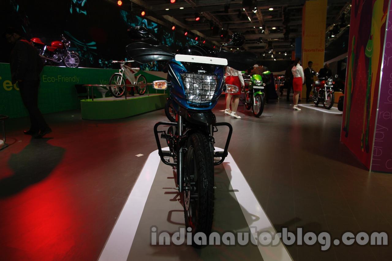 Hero Passion Pro TR at Auto Expo 2014