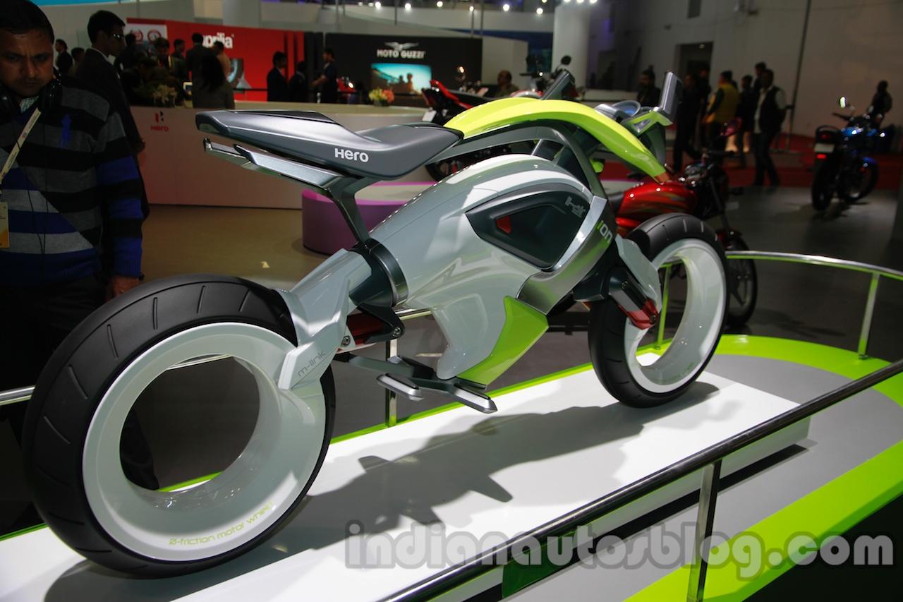 Hero iON Auto Expo 2014 rear quarter