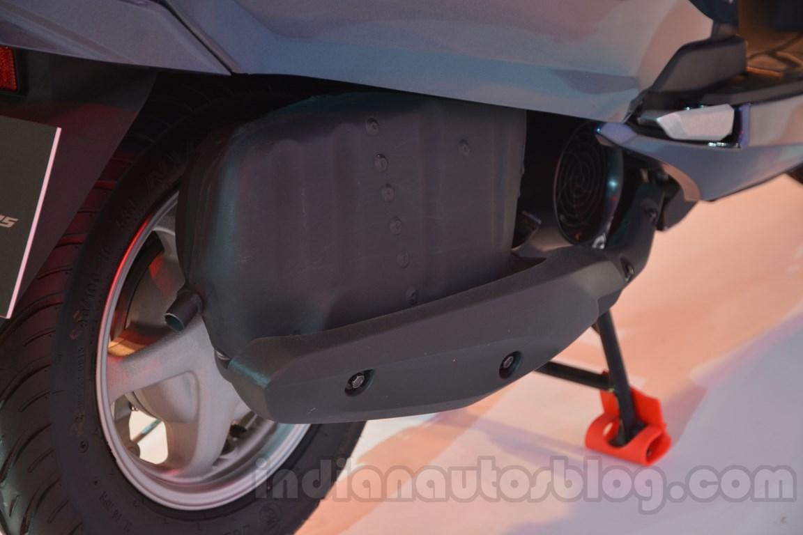 Honda Activa 125 Auto Expo 2014 exhaust