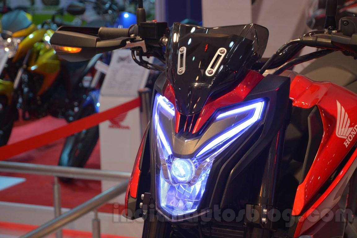 Honda CX-01 Concept Auto Expo 2014 LED lights