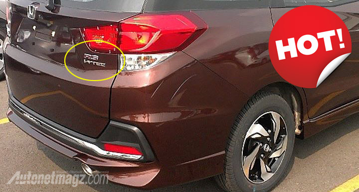 Honda Mobilio Rs With New Lights Bodykit Seen In Indonesia