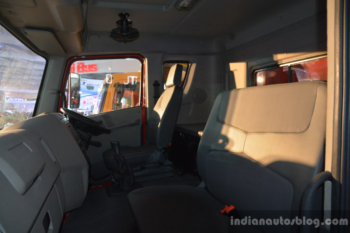 Mahindra Traco 49 driver cabin live