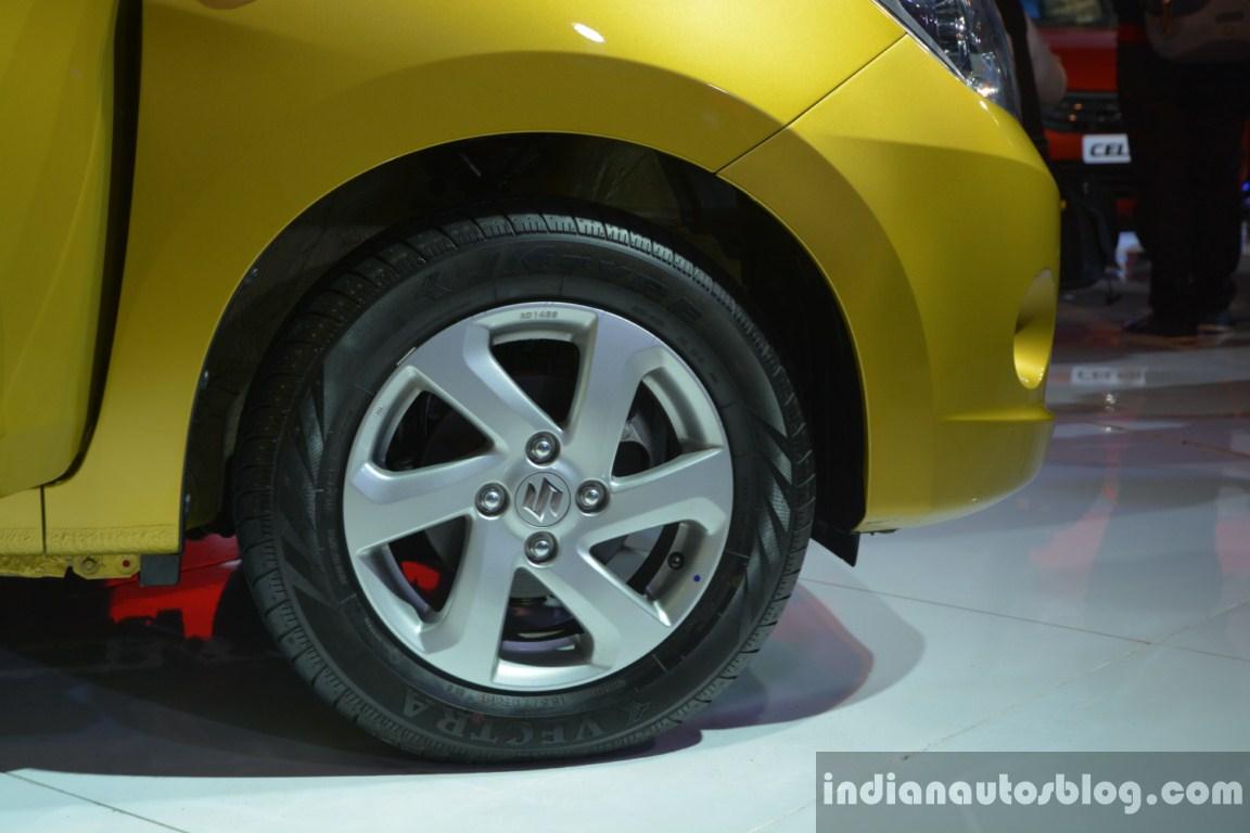 Maruti Celerio wheel detail live