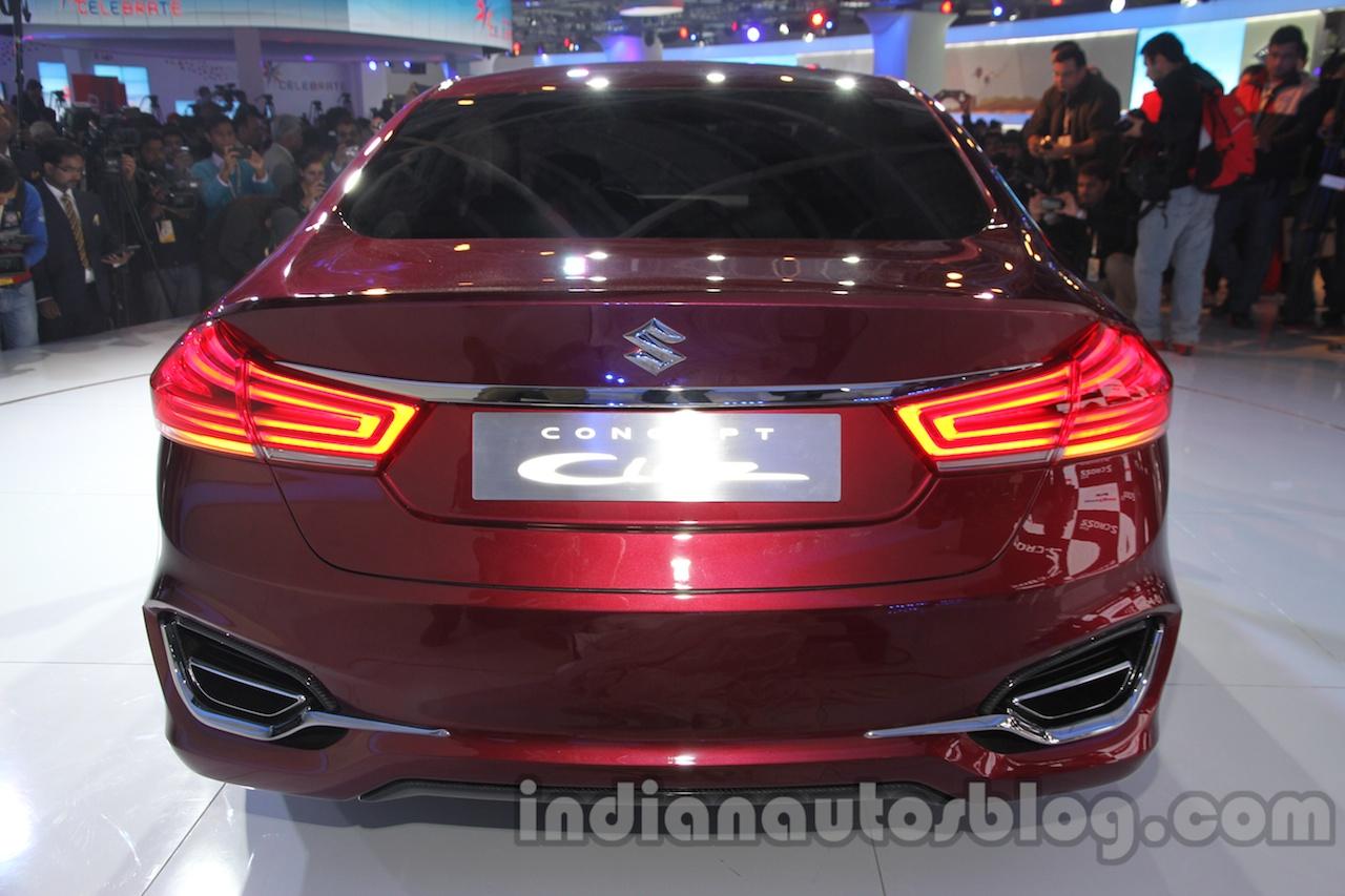 Maruti Ciaz Concept rear