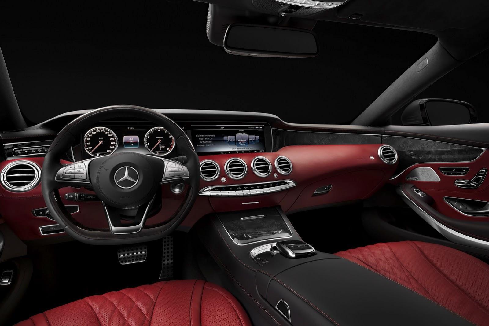 Mercedes-Benz S-class Coupe interior (2)