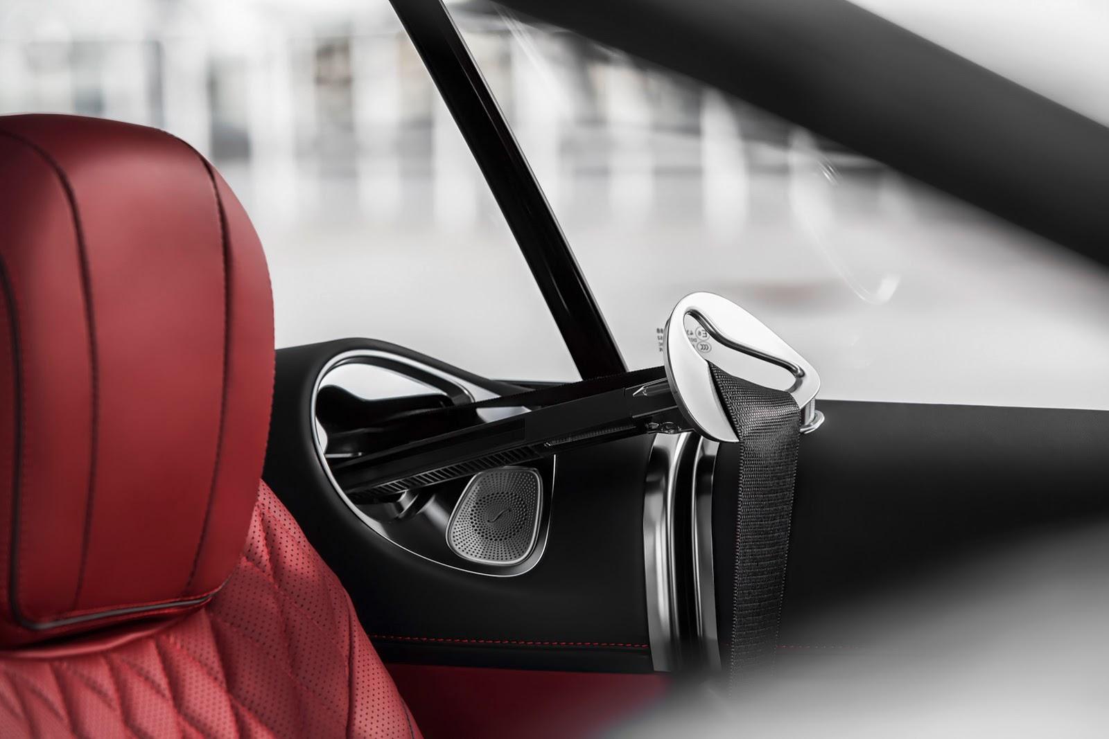 Mercedes-Benz S-class Coupe seat belt
