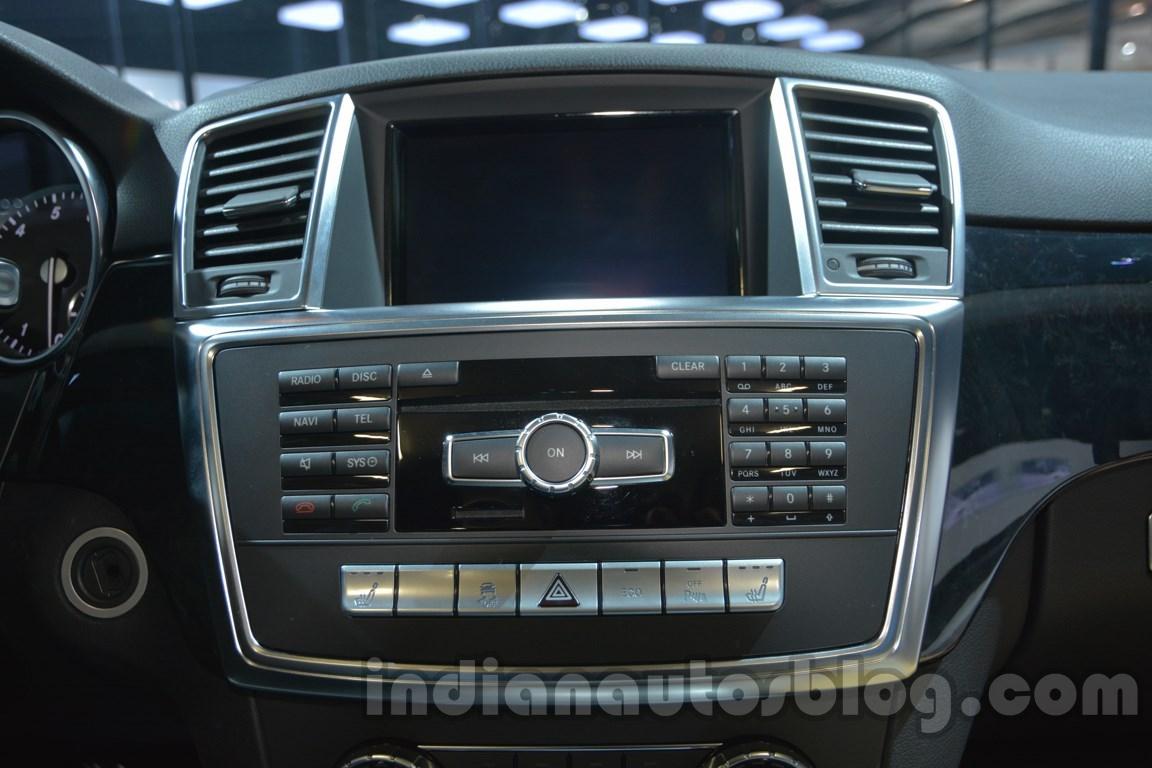 Mercedes M-Guard center console at Auto Expo 2014