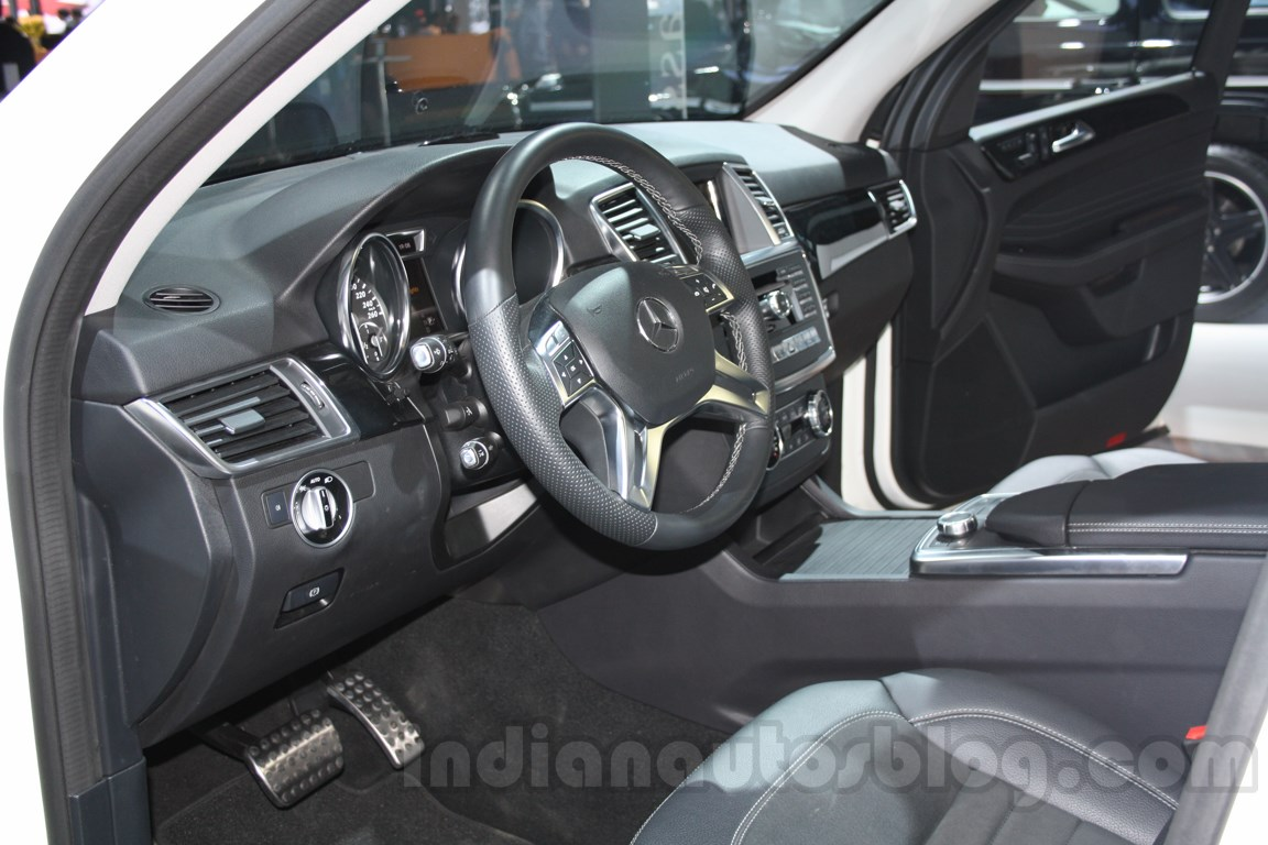 Mercedes M-Guard dashboard at Auto Expo 2014