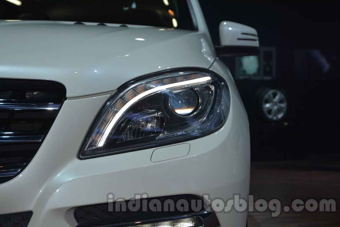 Mercedes M-Guard headlamp at Auto Expo 2014