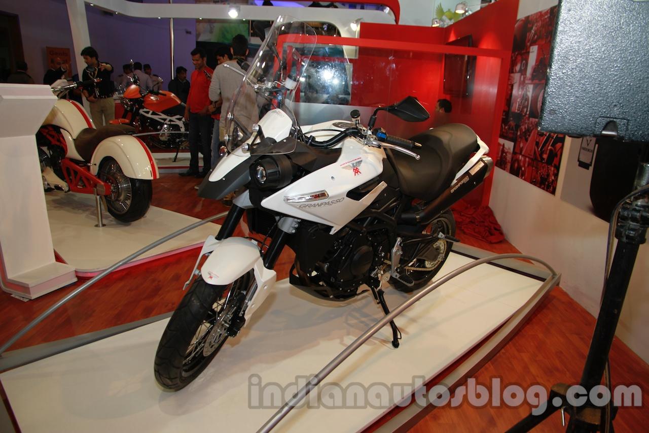 Moto Morini Granpasso at Auto Expo 2014 front quarters