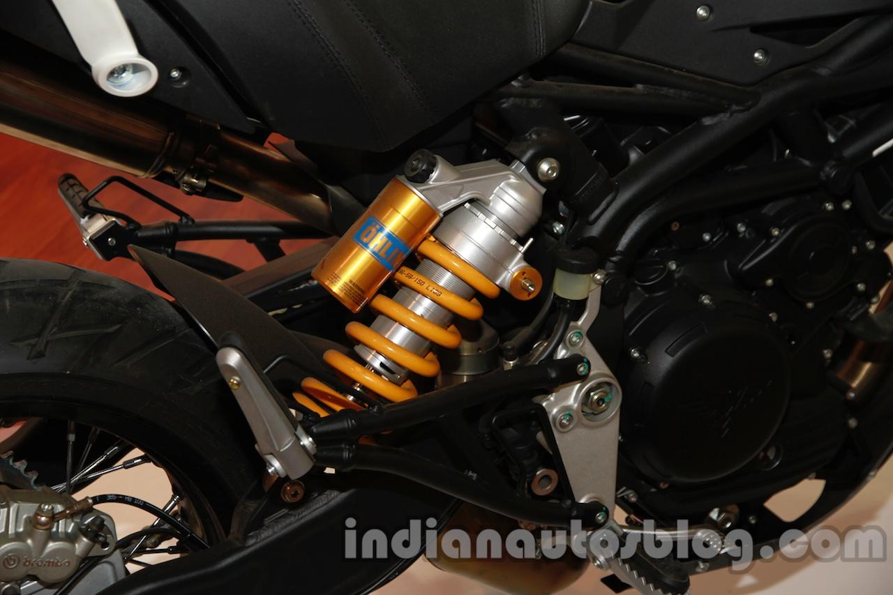 Moto Morini Granpasso at Auto Expo 2014 shocks
