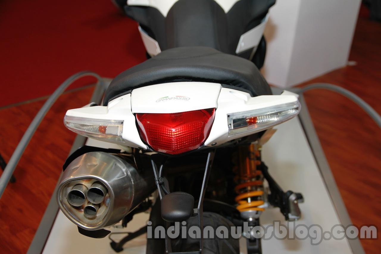Moto Morini Granpasso at Auto Expo 2014 taillight