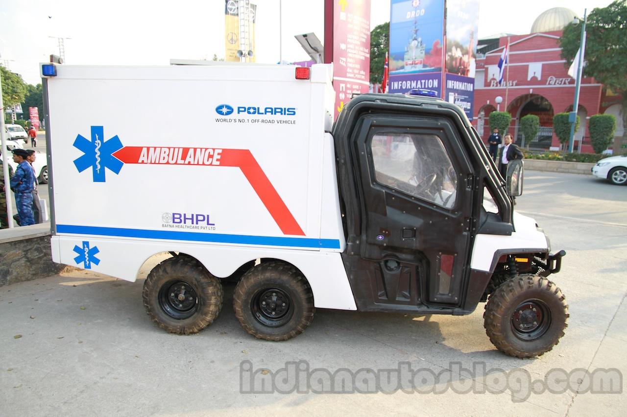 Polaris Ambulance side live