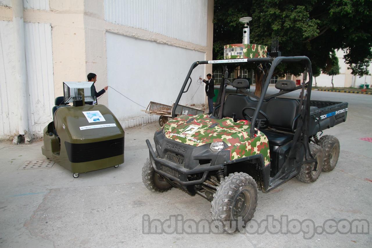 Polaris Ranger Unmanned and control unit live