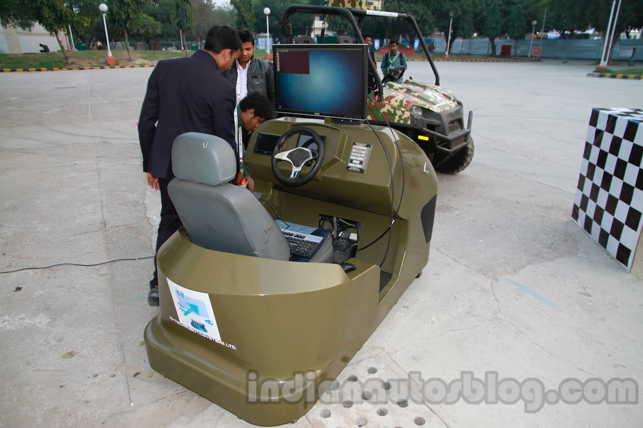 Polaris Ranger Unmanned control unit live