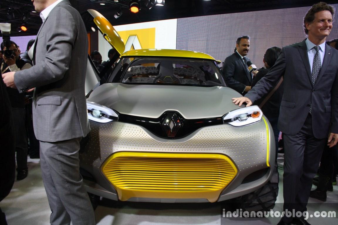 Renault KWID Concept front  live