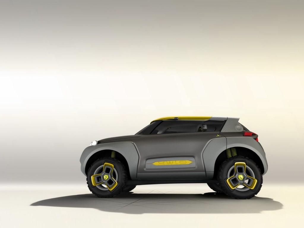 Renault KWID Concept side press shot