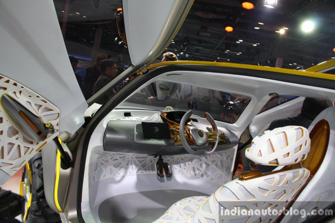 Renault KWID Concept steering live