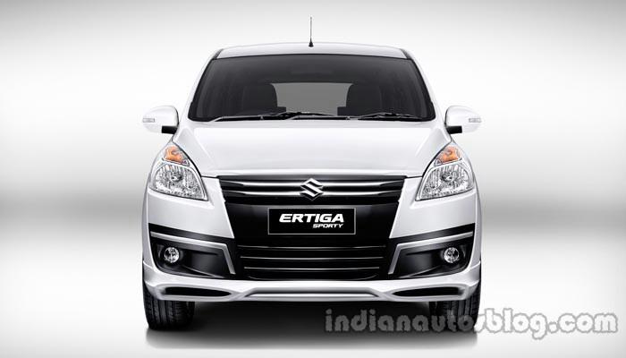 Suzuki Ertiga Sporty launched Indonesia front press