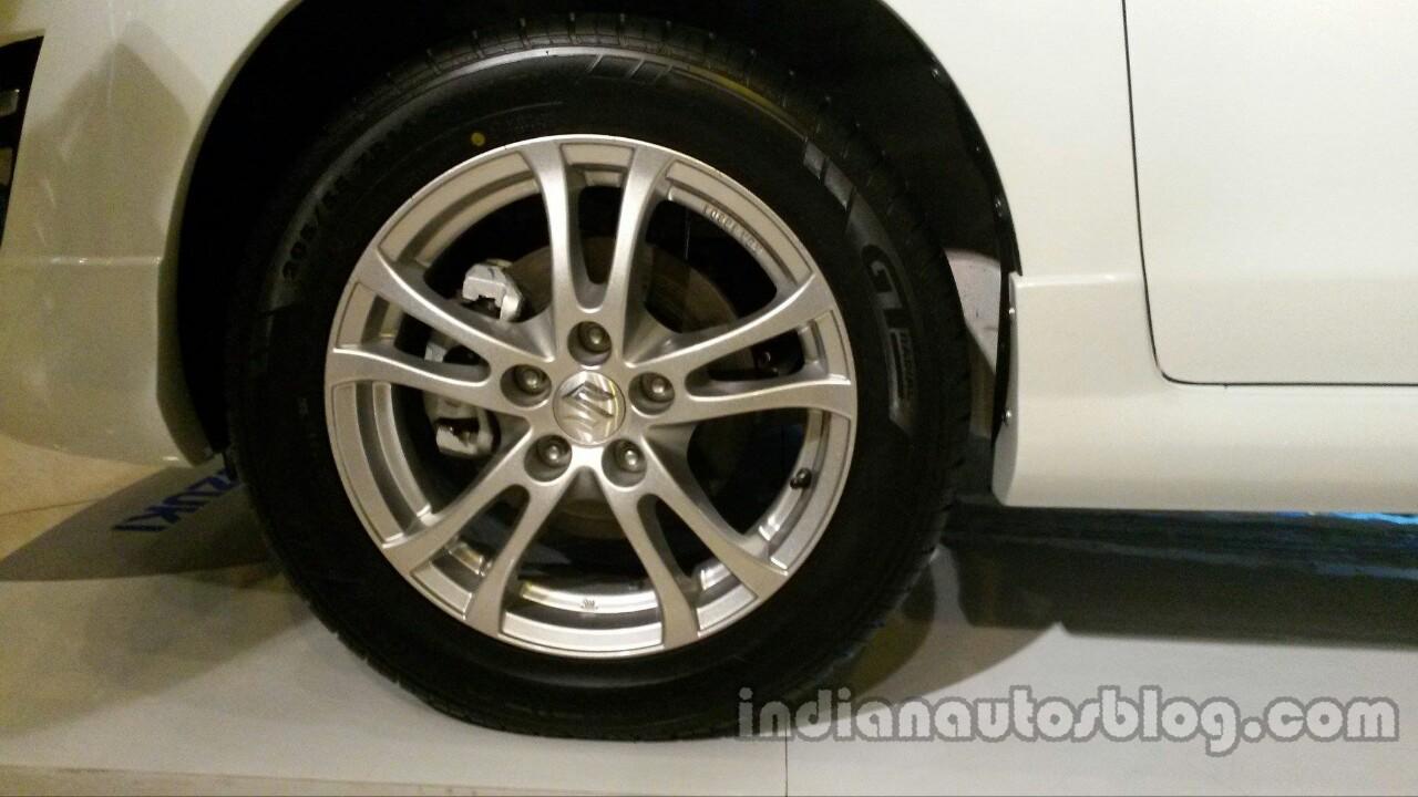 Suzuki Ertiga Sporty launched Indonesia wheel