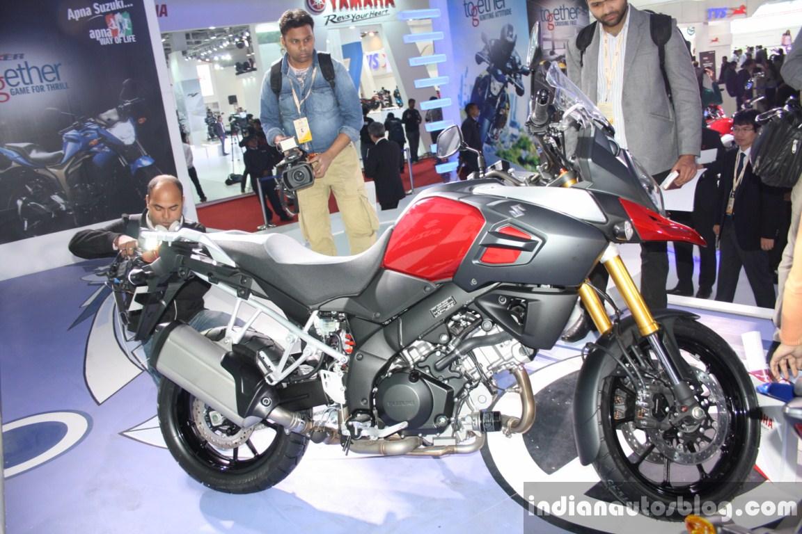 Suzuki V Strom 1000 ABS right side live