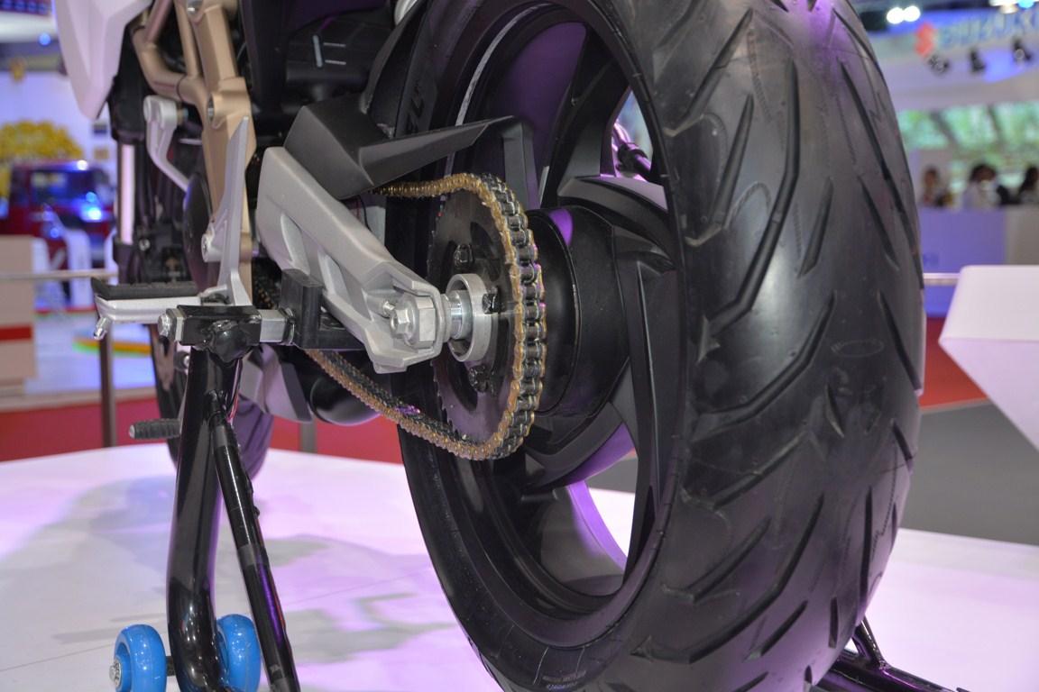 TVS Draken - X21 concept rear tire