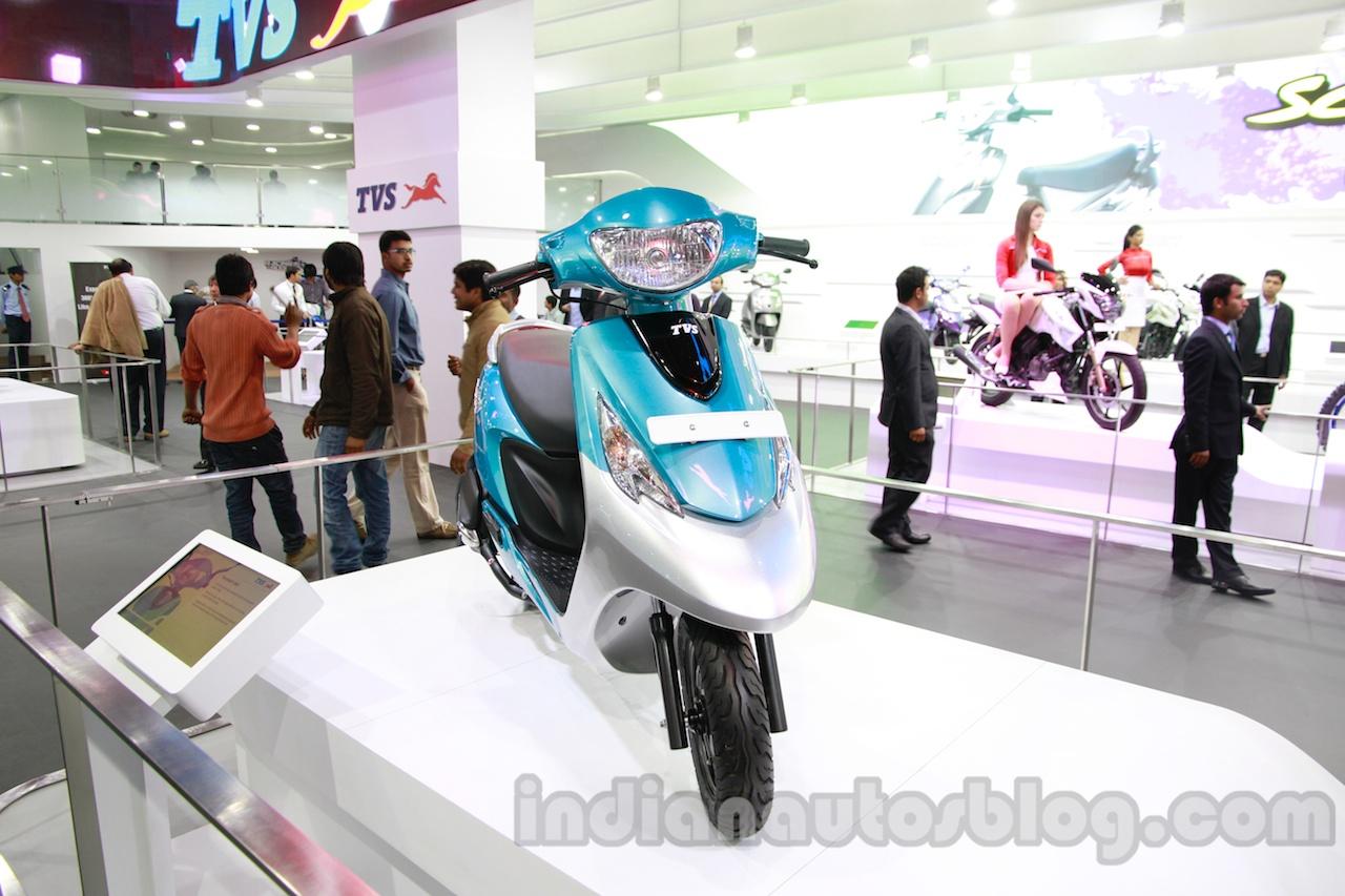 TVS Scooty Zest 110 cc front