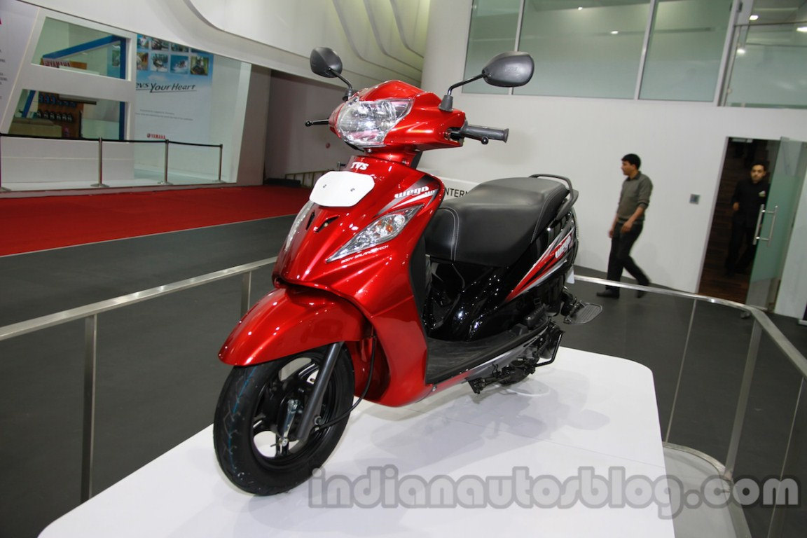 TVS Wego update front three quarter left live