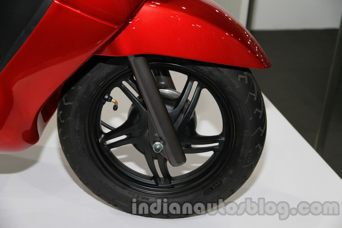 TVS Wego update front wheel live