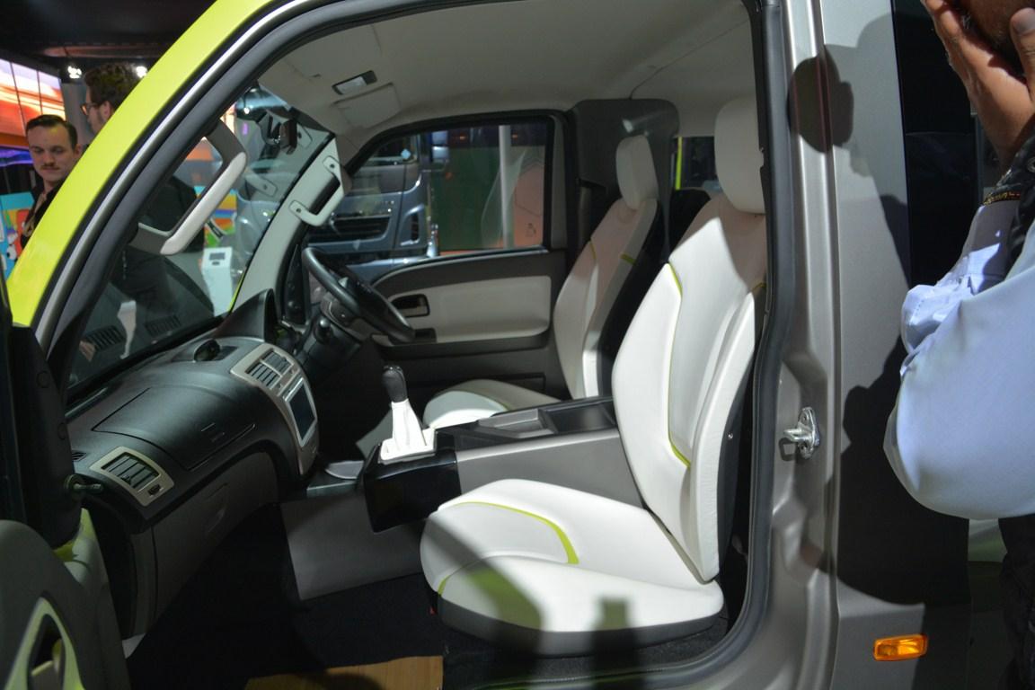 Tata ADD Venture Concept front seats from Auto Expo 2014