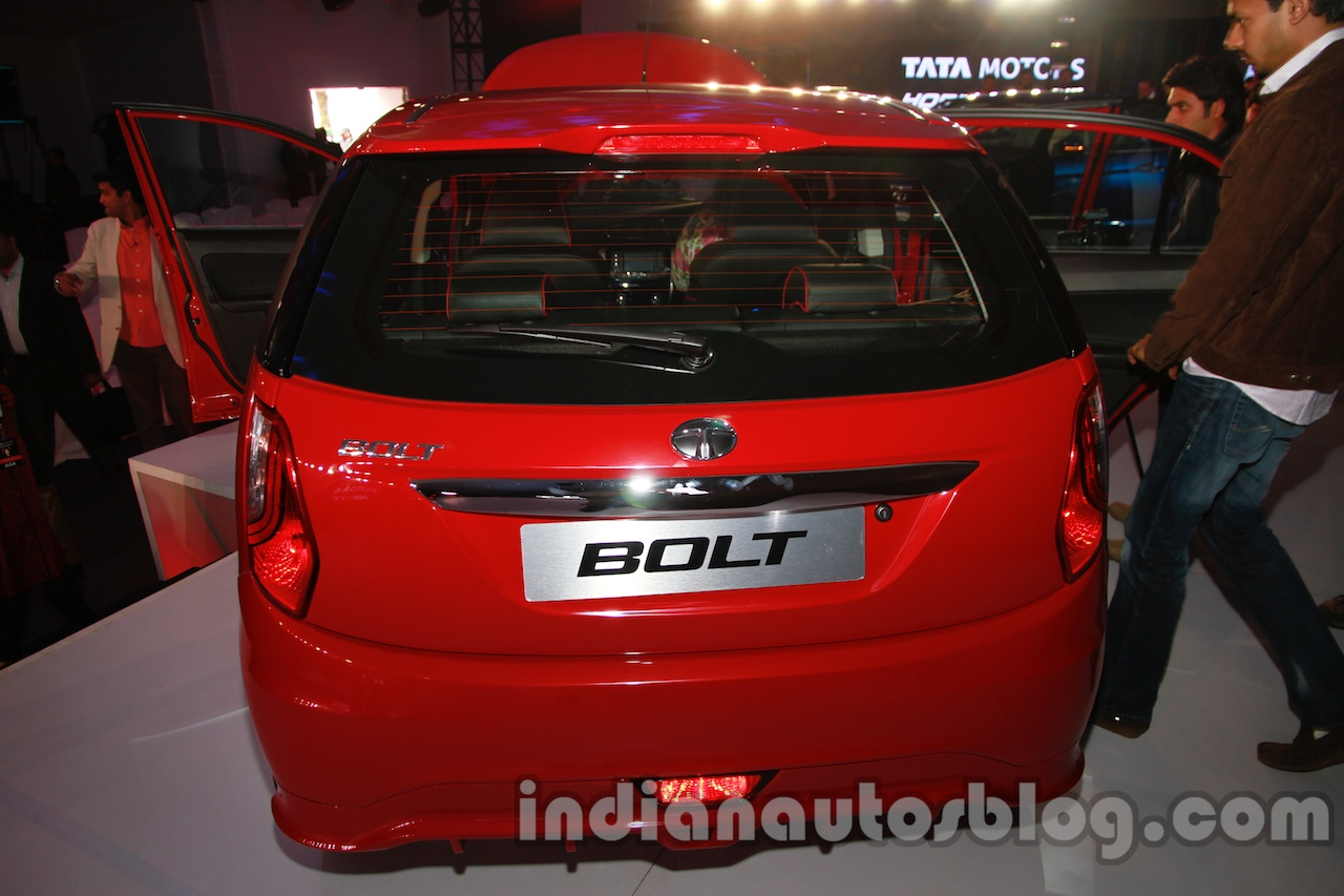 Tata Bolt launch images rear top