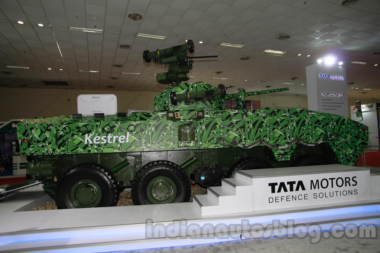 Tata Kestrel side profile live