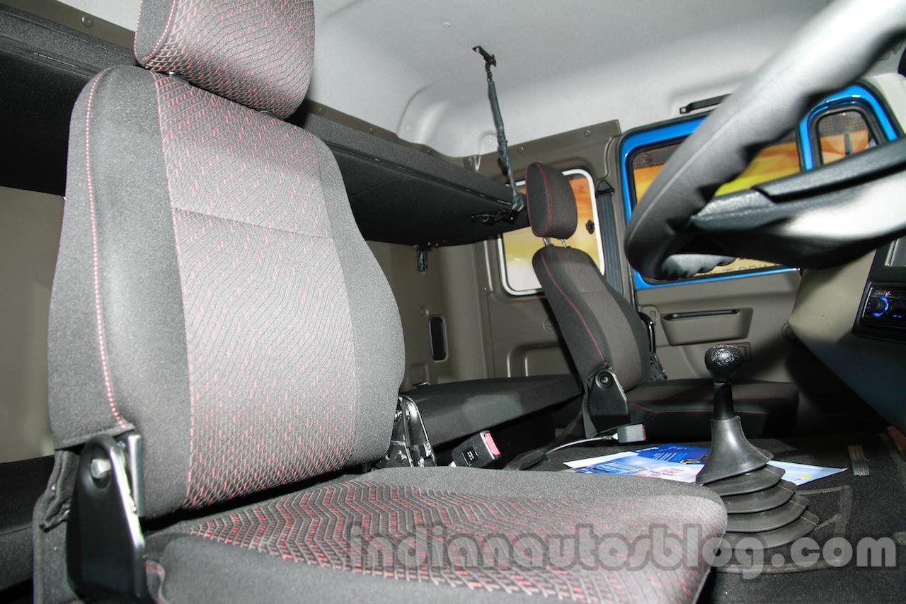 Tata LPS 4923 Lift Axle driver compartment