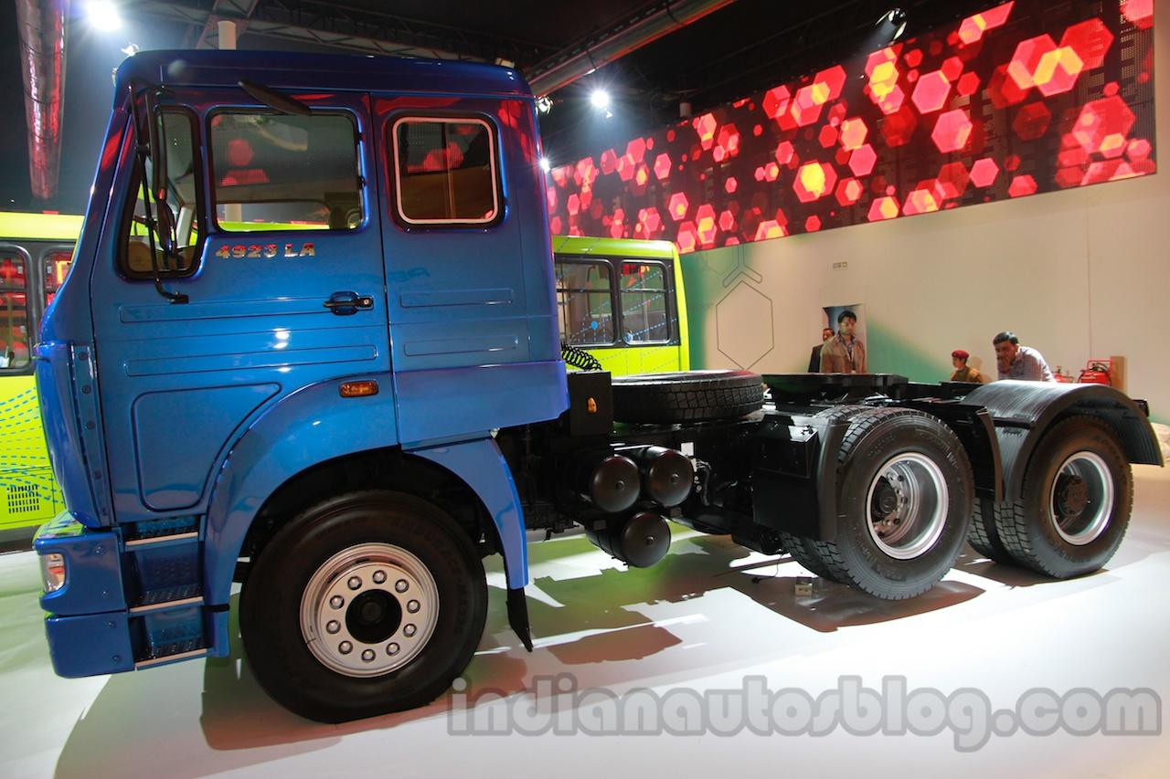 Tata LPS 4923 Lift Axle at Auto Expo 2014