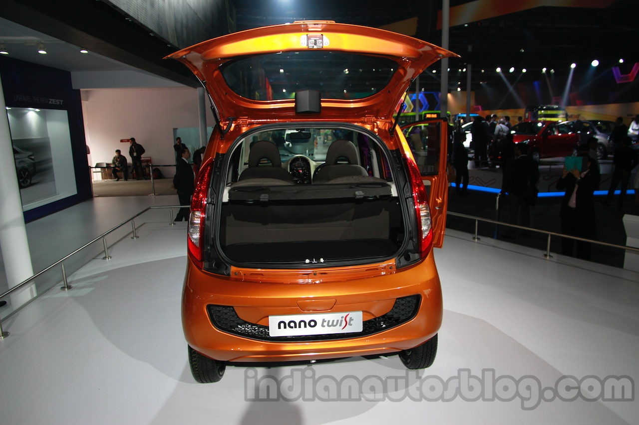 Tata Nano Twist Active Concept opeanble hatch